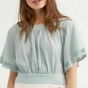 New Free People Cotton The Ahn Top Endless Summer